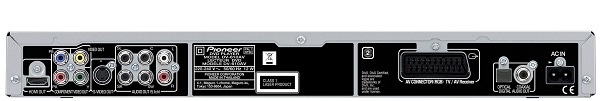 Pioneer-DV-610AV-DVD-Player-Rear-View-Audiopolitan