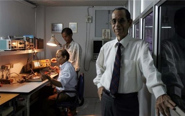 Five-Decades-Later-Shyam-Bajaj-At-The-Eastern-Electronics-Factory-In-Mahim-Audiopolitan